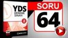 SORU 64 YDS Diyalog Sorusu ve Çözümü