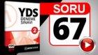 SORU 67 YDS Diyalog Sorusu ve Çözümü