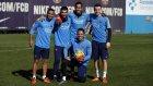 Barcelona'da Eibar maçı hazırlıkları başladı