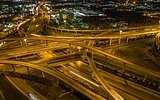 Drone ile Çekilen Hyperlapse Gece Görüntüleri