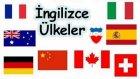 İngilizce ülkeler-ülkelerin bayrakları-milletler