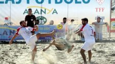 TFF Plaj Futbol Ligi finalleri