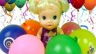 Baby Alive Sürpriz Oyuncaklı Balon Patlatma Oyunu Oynuyor