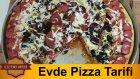 Evde Pizza Tarifi | Evde Pizza Yapımı