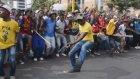 Güney Afrika'da harç protestosu