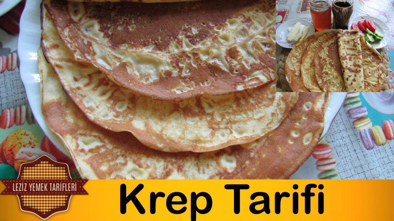 Kolay Krep Tarifi Videosu