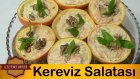 Portakal Kabuğunda Kereviz Salatası Tarifi