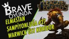 KANSERLETEN Warwick | Üst Koridor | Elmastan Şampiyonluğa #27 | League of Legends