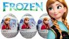 Karlar Ülkesi Sürpriz Yumurta Açma Prenses Anna Oyuncaklı Yumurtalar