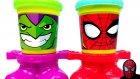 Play Doh Örümcek Adam Green Goblin Savaşı Oyun Hamuru Seti Oyuncak Abi