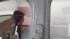 Buharlı detaylı yıkama makinası