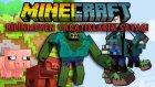 Minecraft BİLİNMEYEN YARATIKLARIN SAVAŞI! - Türkçe Minecraft Sky Wars - Minecraft Gökyüzü Savaşları!
