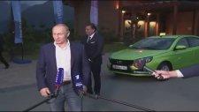 Putin Yeni Lada'yı Test Etti