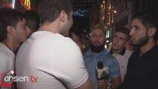 Röportajı Trolleyen Siyah ve Dar T-Shirtli Adam (Ben Buna Şaşırırım)