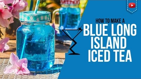 Ingredients Of Blue Long Island Iced Tea