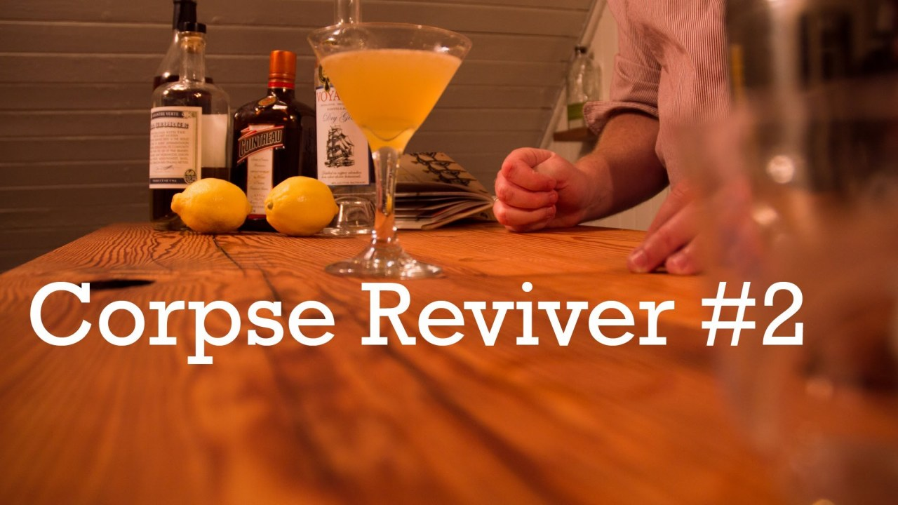 Corpse Reviver #2 cocktail from Better Cocktails at Home | İzlesene ...