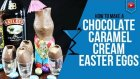 Easter Cocktails - Chocolate Caramel Cream Easter Egg Cocktail - How to make a easter Cocktails