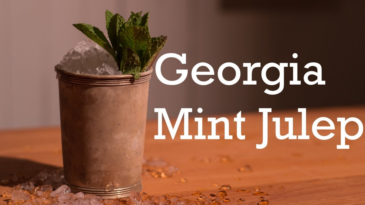 Georgia Mint Julep cocktail from Better Cocktails at Home | İzlesene ...