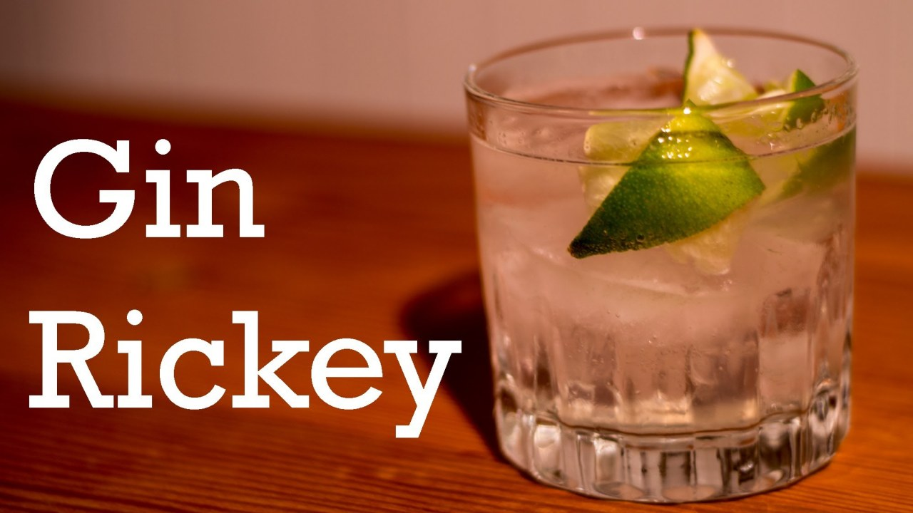 Gin Rickey cocktail from Better Cocktails at Home | İzlesene.com