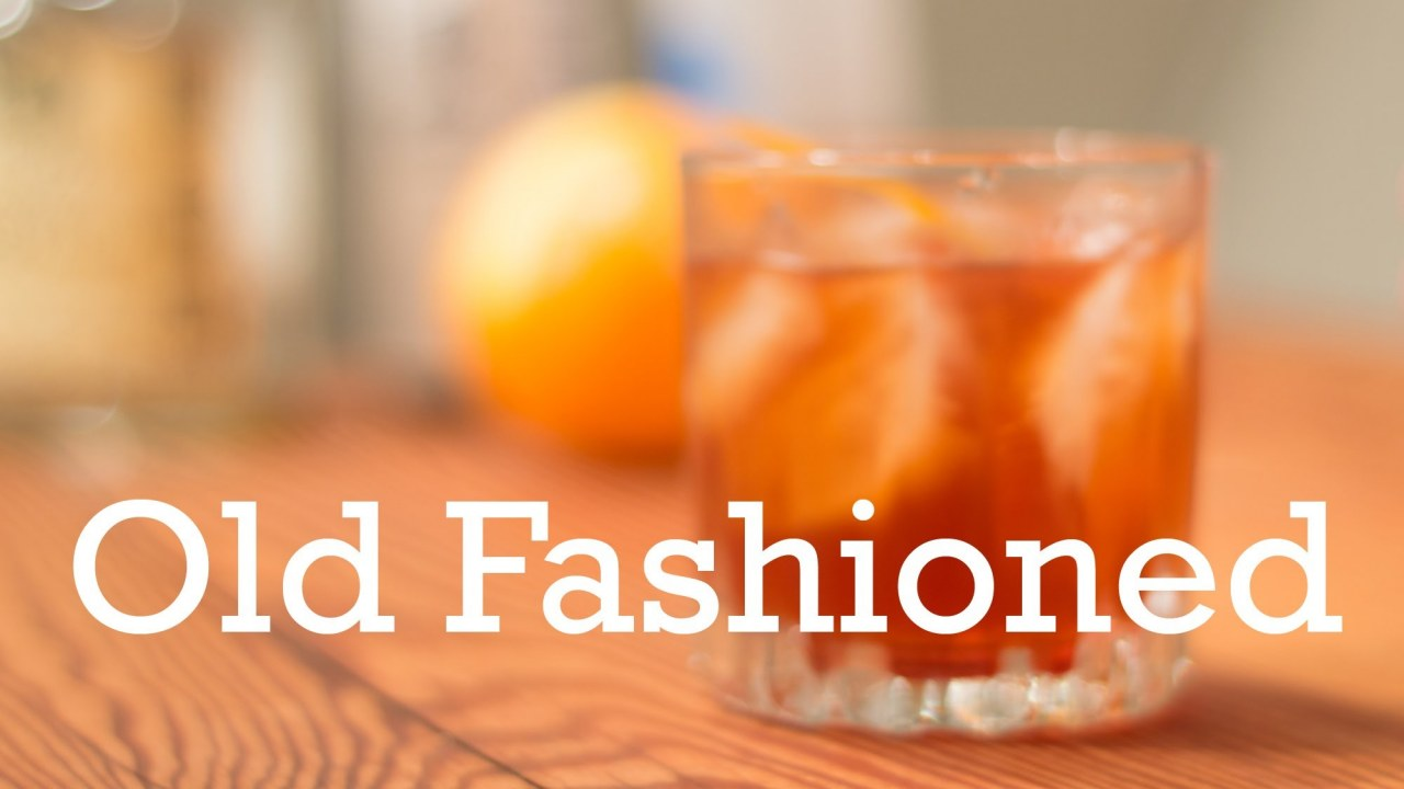 Bourbon Old Fashioned With Simple Syrup