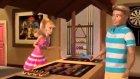 Barbie Çizgi Film Kaburga Yeme Yarışması