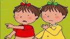 Üçüzler Çizgi Filmi Boylarını Ölçüyorlar