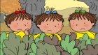 Üçüzler Çizgi Filmi Tavşan Arkadaşları