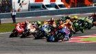 MotoGP'de olay Rossi rakibini düşürdü