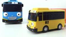 Otobüs Tayo , arkadaşlarına garaja gelen araç renklerini öğretiyor