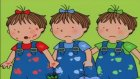 Üçüzler Çizgi Filmi Renkleri Öğreniyorlar