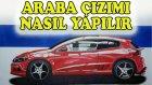 ARABA ÇİZİMİ NASIL YAPILIR - ÇİZİM BOYAMA - DERS2 (how to draw a car)