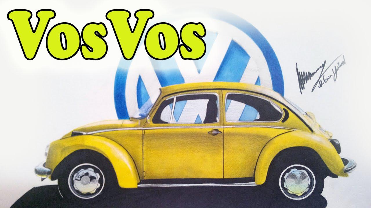 Volkswagen Beetle Vosvos Araba çizimi My çizim Art