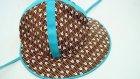 Kumaş Çocuk Şapkası Biçimi İkimi Şemalı Tarifi
