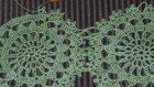 Tığ İşi Dantel Elbise Motifi Tarifi Ve Dantel Motifleri