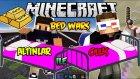 ALTIN İLE ÖLÜŞ - Bed Wars - Minecraft Yatak Savaşları w/Ahmet Aga