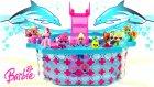Barbie Oyuncak Havuz Minişler Cicibiciler ve Ponyler ile Parti Zamanı