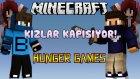 KIZLAR KAPIŞIYOR?! - Hunger Games - Minecraft Açlık Oyunları