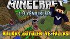 Minecraft : YENİ PVP, Kalkan, Büyüler ve Fazlası - 1.9 Yenilikleri