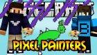 T-REX & YILDIRIM - Pixel Painters - Minecraft Çizim Yapma Savaşı