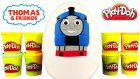 Thomas ve Arkadaşları Oyun Hamuru DEV Sürpriz Yumurta Açma Oyuncak Trenler