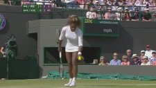 Serena Williams'ın Maça Alkollü Çıkması