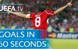60 Saniyede Türk Futbolcularının Avrupa'da Attığı Goller