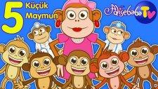 Beş Küçük Maymun | Bebek Şarkıları | Adisebaba TV