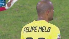 Felipe Melo'nun kırmızı kart gördüğü pozisyon