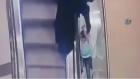 Yürüyen Merdivende Korkunç Kaza