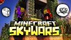 ADAMLARIN ELİNE VERDİM! - Minecraft : Sky Wars (Gökyüzü Savaşları)