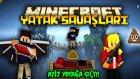 AZİZ YATAĞA SIÇTI! - Minecraft YATAK SAVAŞLARI! w/ AzizGaming