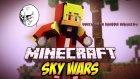(DÜNYANIN EN ŞANSSIZ İNSANI!) Minecraft - Gökyüzü Savaşları! (Sky Wars)