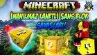İNANILMAZ ŞANS BLOK SAVAŞLARI! - Minecraft ŞANSLI ADALAR! - Minecraft Lucky Islands!