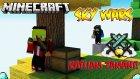 KATLİAMIN DİBİNE VURMAK! - Minecraft : Sky Wars (Gökyüzü Savaşları)